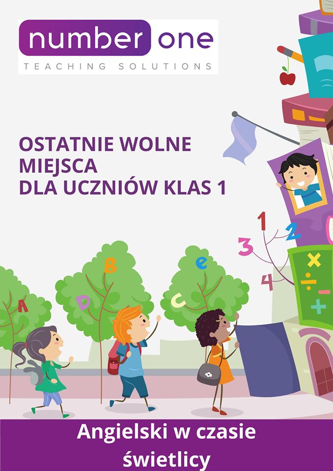 Bez dodatkowych kosztów zorganizujemy zajęcia języka angielskiego dla dzieci z klas 1-3 SP w Straszynie. Przyprowadzimy na lekcje angielskiego do szkoły Number One i odprowadzimy do szkoły SP po jej zakończeniu. Dodatkowo, zapisując dziecko w pierwszym tygodniu września dostosujemy grafik zajęć angielskiego do lekcji szkolnych. W przypadku zmiany planu szkolnego dzieci – dostosujemy nasze zajęcia do nowego planu.