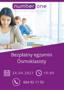 Bezpłatny egzamin 8klasisty